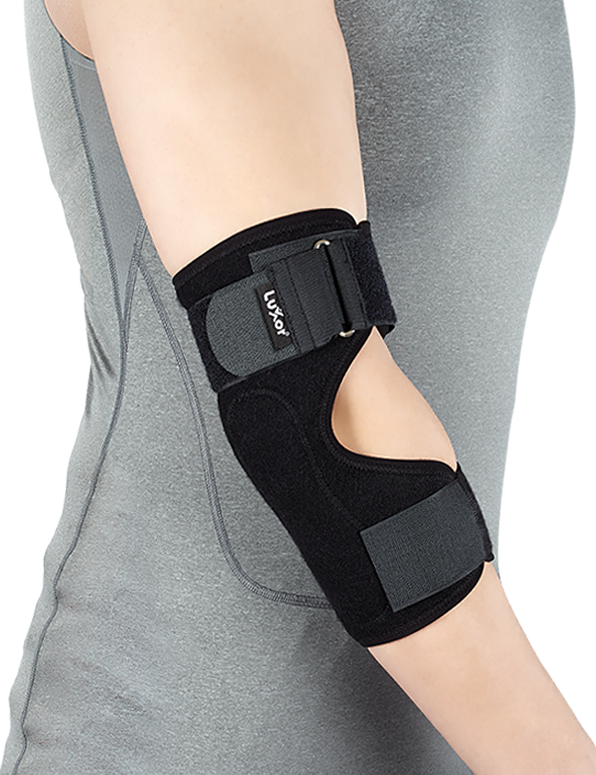 It is used in the treatment of tennis elbow syndrome and epicondylitis.