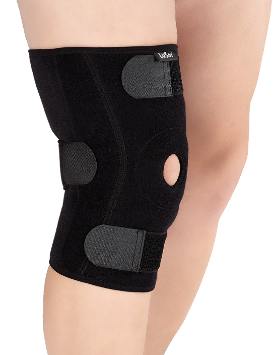 It provides highly stabilization with rigid lateral hinges as a result of straining the