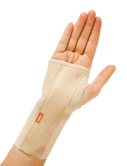 <p>Used in case of wrist injuries, post-treatment relaxation and to reduce rheumatismal pain. Keeps natural position of hand and wrist. Designed separately for left and right.</p>