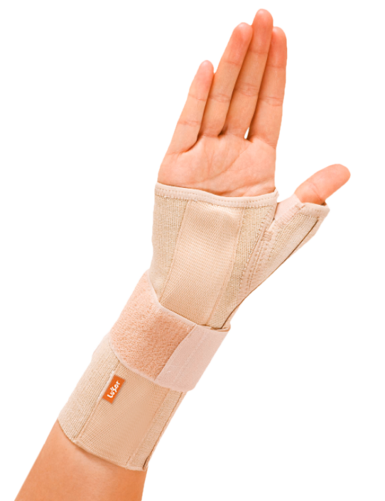 <p>Used in carpal tunnel syndrome and pain in thumb and wrist.Provides recovery by keeping the movement low. Designed separately for left and right.</p>