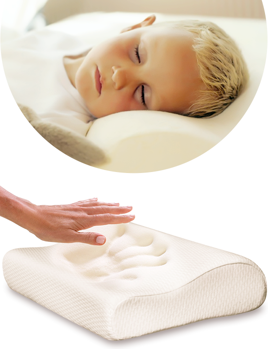 Compased of water based polyurethane foom, enables ideal sleep position